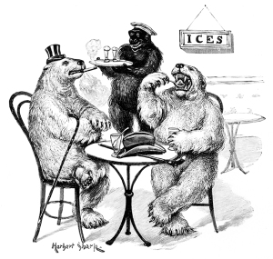 Illustration: A Memory of Home. From Animal Antics by Louis Wain. Illustrator: Herbert Shark