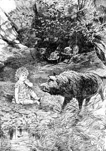 Illustration of Piglets' Home