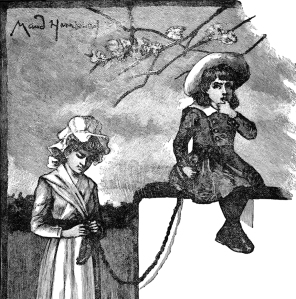 Illustration: Mary Had a Little Lamb And Other Good Stories. Henry Altemus Company: Philadelphia. 1906.