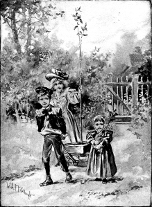 Illustration: Arbor Day. Prattles For Our Boys and Girls. Hurst & Co.: New York. 1912.