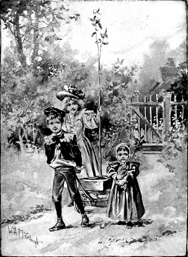 Illustration:  Arbor Day.  Prattles For Our Boys and Girls.  Hurst & Co.:  New York. 1912.