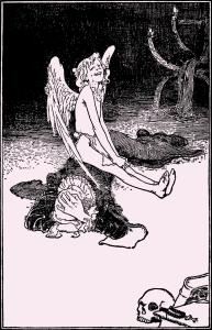 Illustration: The Saucy Boy. Fairy Tales by Hans Christian Andersen. Henry Altemus Company: Philadelphia. Ca 1920.