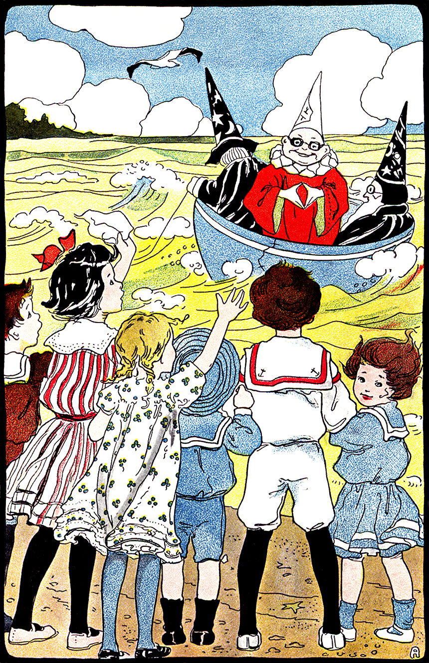 """""""A STORY FOR FRANCES"""" from  In The Miz.  Written by Grace E. Ward.  Illustrations by Clara E. Atwood.  Little, Brown, & Co.: Boston. 1904."""
