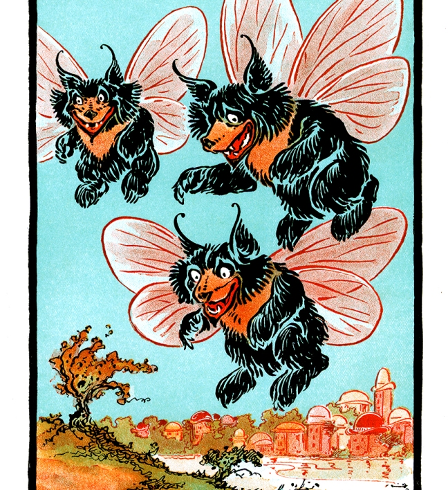 Illustration:  Shaggy Bears.  Billy Bounce.  By W. W. Denslow and Dudley A Bragdon.  Pictures by Denslow.  G. W. Dillingham Co. Publishers: New York. 1906.