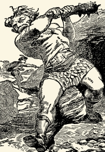 Illustration: Jack The Giant Killer. W. B. Conkey Company: New York. 1898.