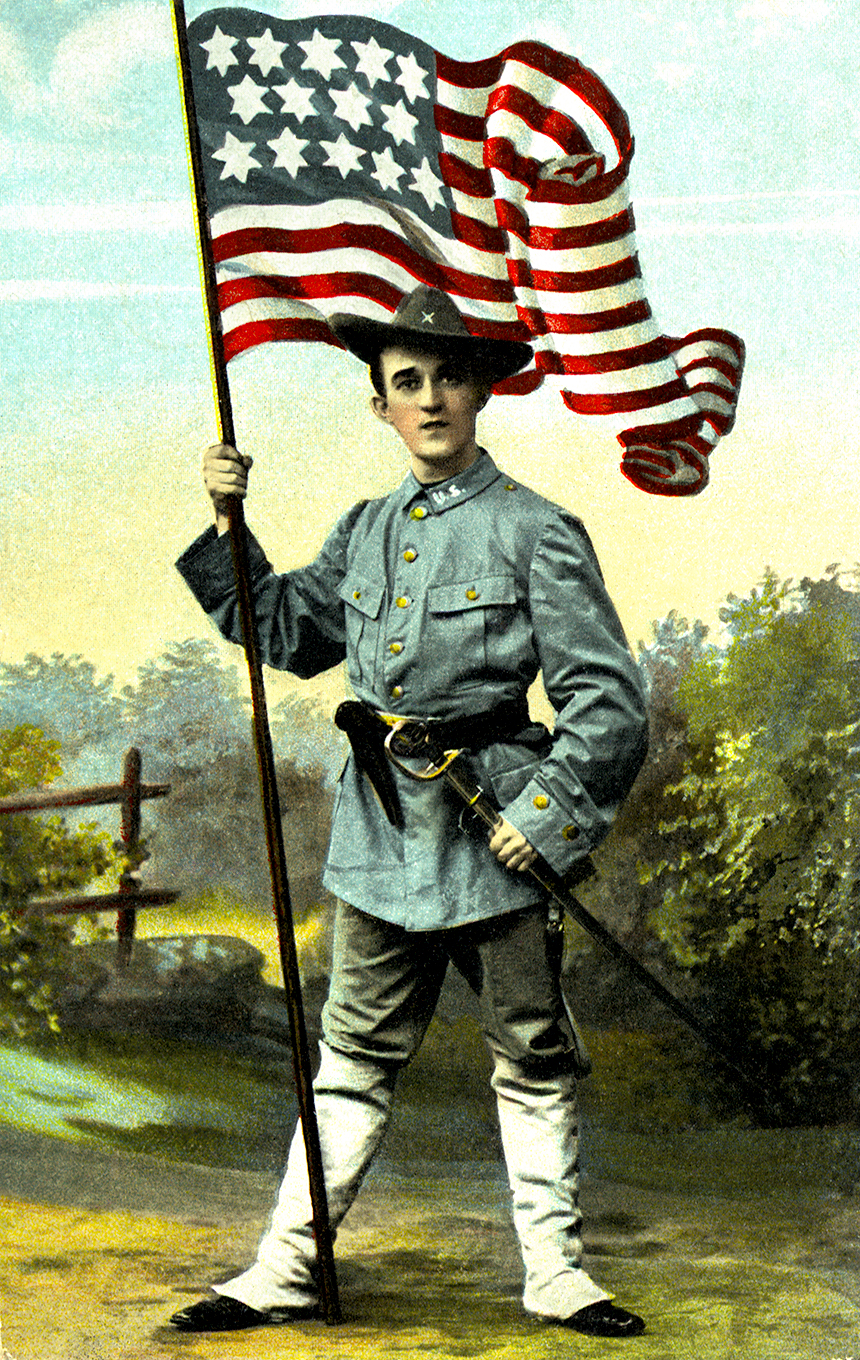 Soldier-With-Flag-PC