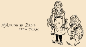 Illustration: The Three Bears' Picture Book - Cover Page. The Three Bears' Picture Book. Illustrated by Walter Crane. George Routledge and Sons: London & New York.