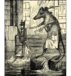 Illustration: THE STEADFAST TIN SOLDIER. Andersen's Fairy Tales. Henry Altemus Company: Philadelphia. Ca 1920.