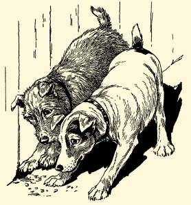 Illustration: Better Again. Our Dear Dogs. Father Tuck's Happy Hour Series. Raphael Tuck & Sons, Ltd.: London-Paris-Berlin-New York-Montreal. Printed in the Fine Art Works in Saxony. Publishers to Their Majesties The King & Queen, & Her Majesty Queen Alexandra. Ca 1910.