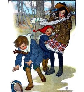 Illustration: Prattles For Our Boys and Girls. Hurst & Co.: New York. 1912.