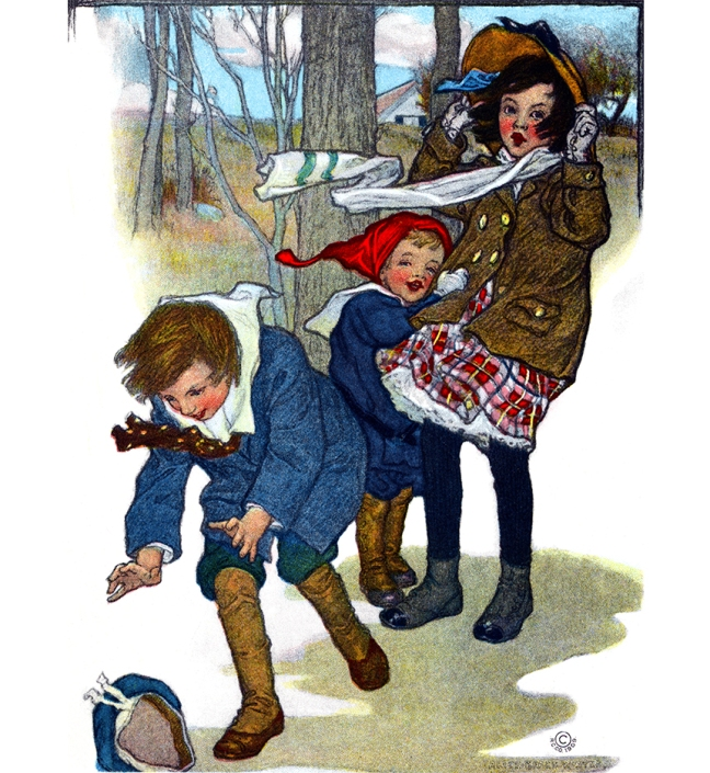Illustration:  Prattles For Our Boys and Girls.  Hurst & Co.: New York. 1912.